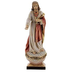 Sagrado Corazón Jesús con hostia coloreado