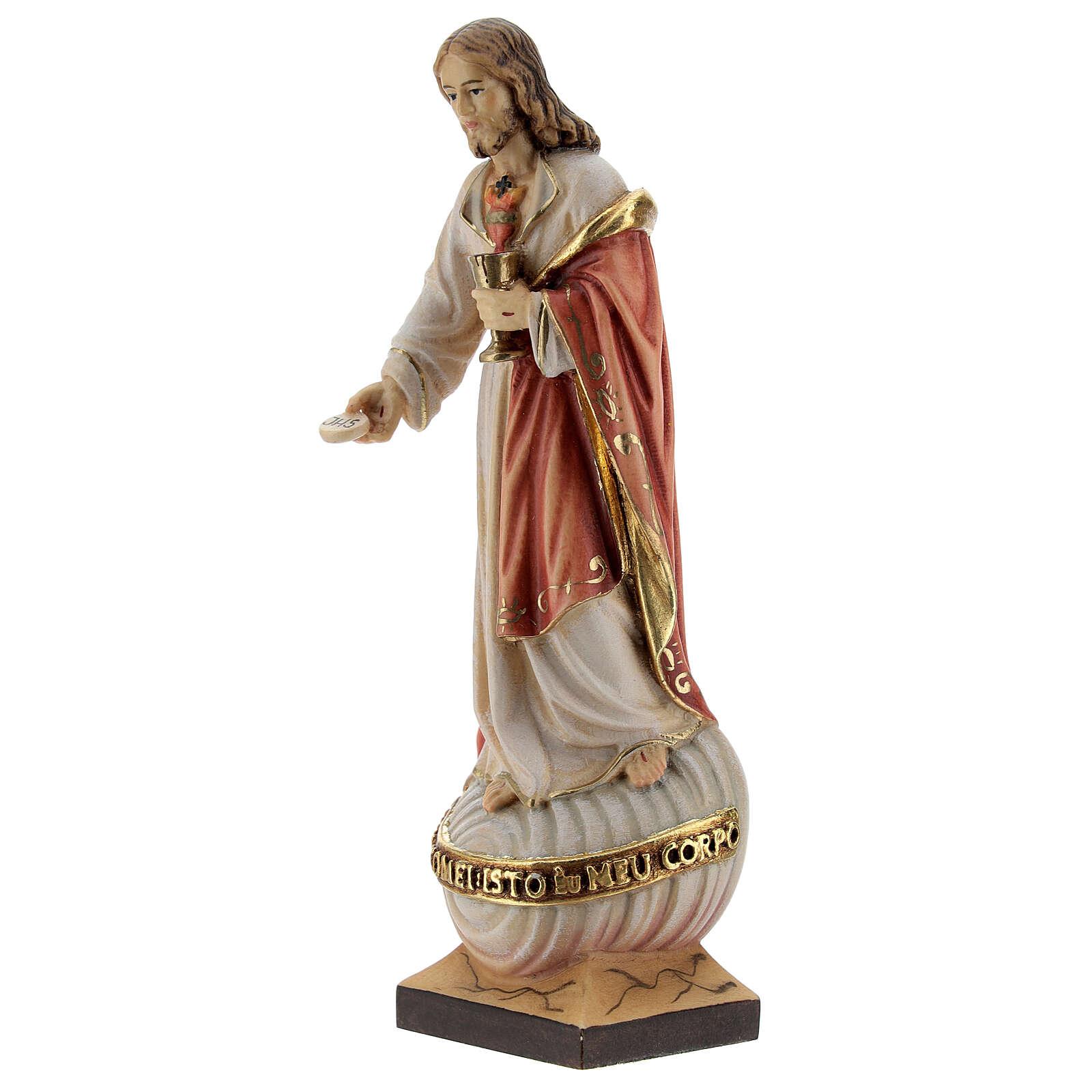 Sacro Cuore Gesù con particola colorato 4