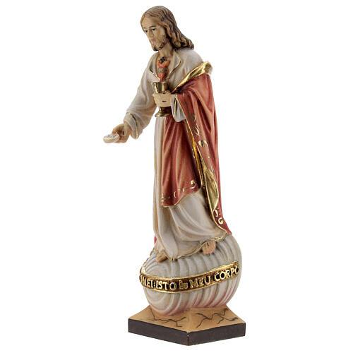 Sacro Cuore Gesù con particola colorato 2