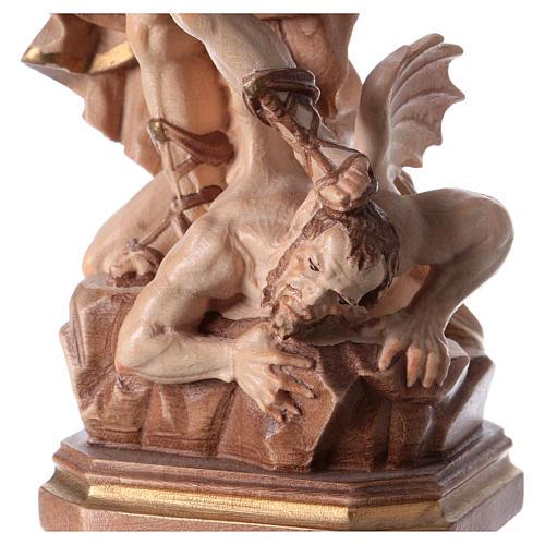 Statua San Michele G. Reni brunito 3 colori 3