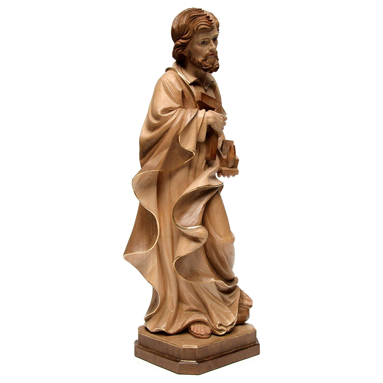 Święty Józef rzemieślnik wyk. przyciemniane 3 kolory 4