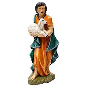 Statue Hl. Josef bemalten Grödnertal Holz s10
