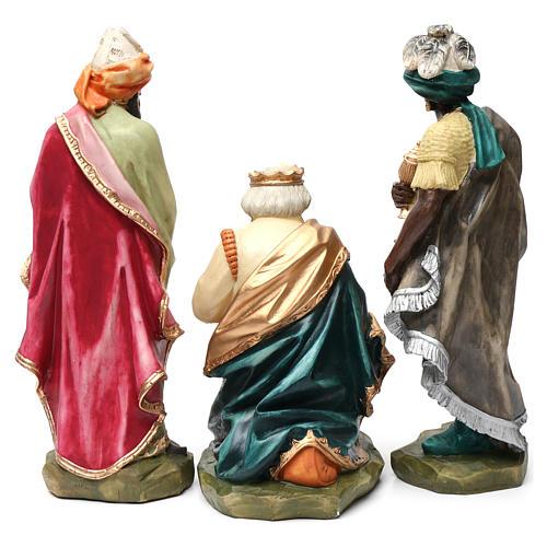 Statue Hl. Josef bemalten Grödnertal Holz 11