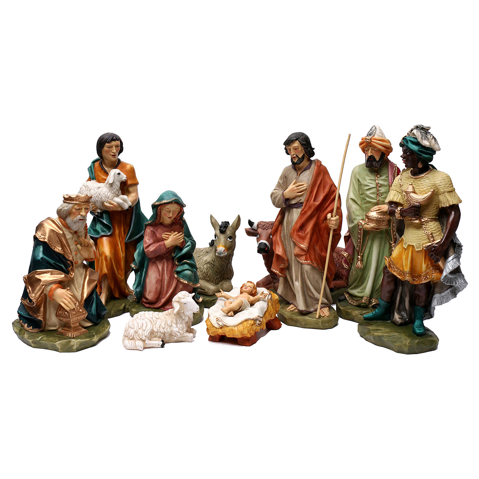 The artisan Saint Joseph coloured statue 4