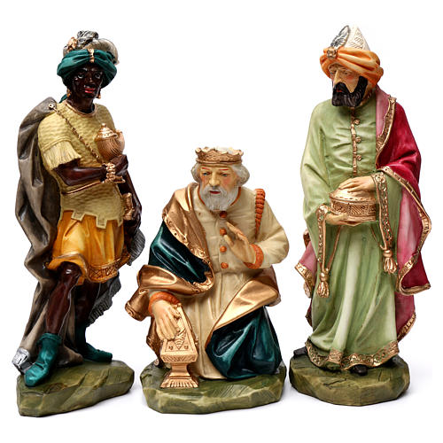 The artisan Saint Joseph coloured statue 9