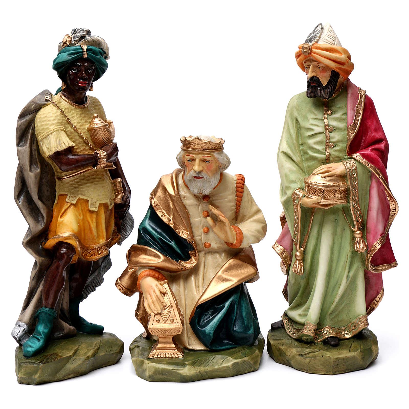Statue Saint Joseph artisan coloré 4
