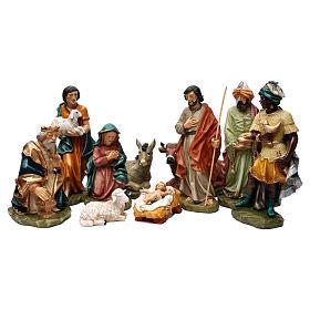 Statue Saint Joseph artisan coloré s6