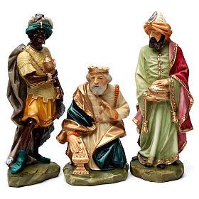 Statue Saint Joseph artisan coloré s9