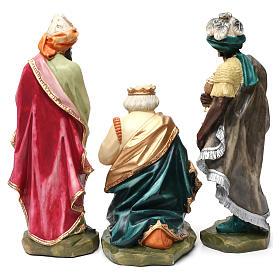 Statue Saint Joseph artisan coloré s11