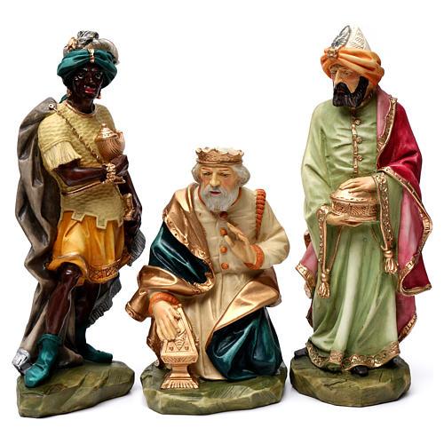 Statue Saint Joseph artisan coloré 9