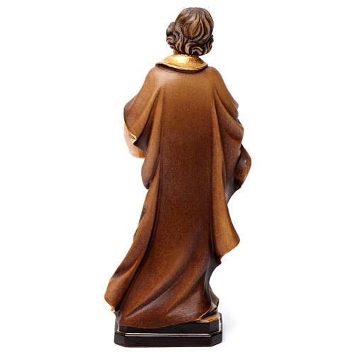 Statue Saint Joseph artisan coloré 5