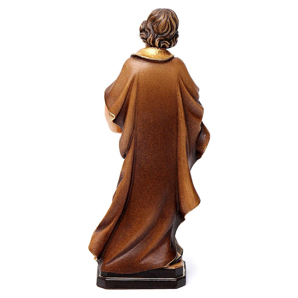 Statua San Giuseppe artigiano colorato 4
