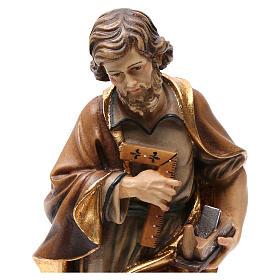 Statua San Giuseppe artigiano colorato s2