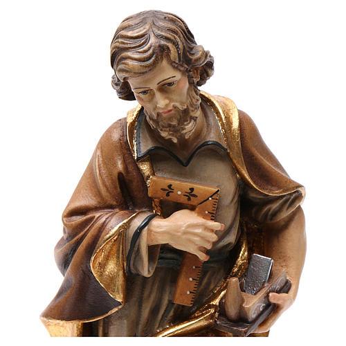 Statua San Giuseppe artigiano colorato 2