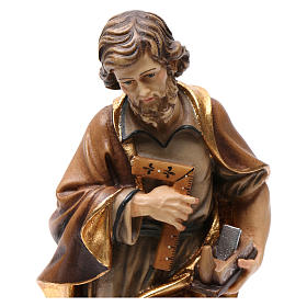 The artisan Saint Joseph coloured statue s2
