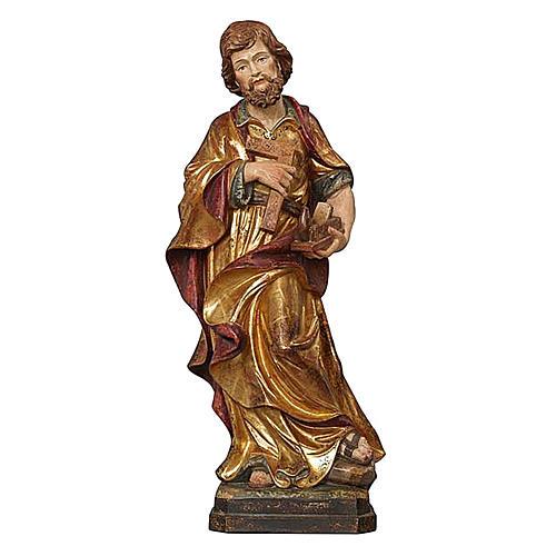 San Giuseppe artigiano manto oro zecchino antico 1