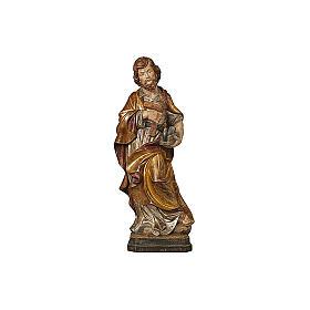 San Giuseppe artigiano oro zecchino antico e argento s2