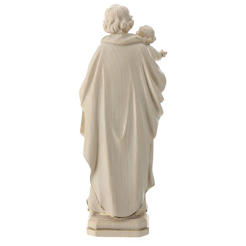 San José con Jesús cera hilo oro Val Gardena 5