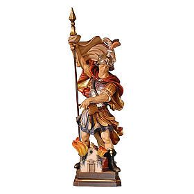 Statua San Floriano colorato s1