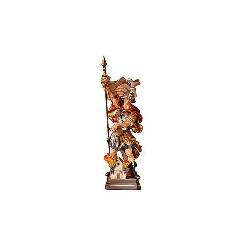 Statua San Floriano colorato 2