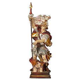 San Floriano oro zecchino antico Val Gardena s1
