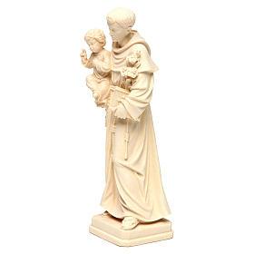 Saint Antoine avec Enfant bois naturel Val Gardena s3