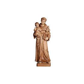 Sant'Antonio con Bambino Val Gardena brunito 3 colori s2