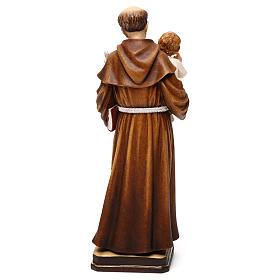 Święty Antoni z Dzieciątkiem figura kolorowa Val Gardena s5