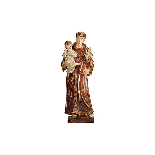 Statua Sant'Antonio con Bambino oro zecchino antico 2