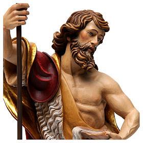 Statua San Giovanni colorato s2