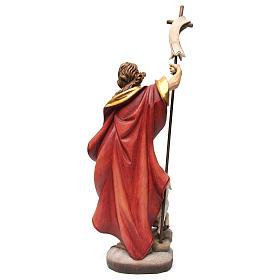 Statua San Giovanni colorato s5