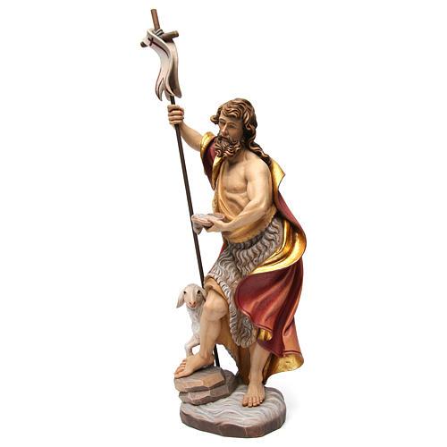 Statua San Giovanni colorato 3
