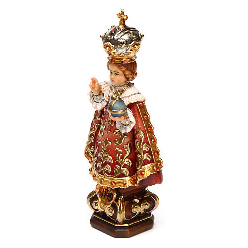 Infant Jesus of Prague statue coloured Val Gardena 2