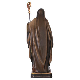Saint Benedict statue coloured Val Gardena s5