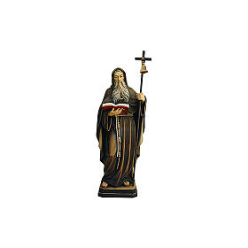 Statua Eremita colorato Val Gardena s2
