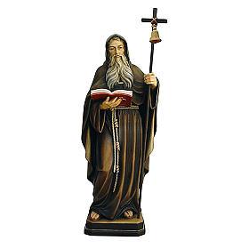 Statua Eremita colorato Val Gardena s1