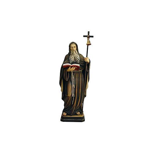 Statua Eremita colorato Val Gardena 2