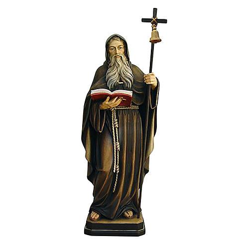 Statua Eremita colorato Val Gardena 1