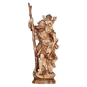 San Cristoforo legno finitura brunito 3 colori s1