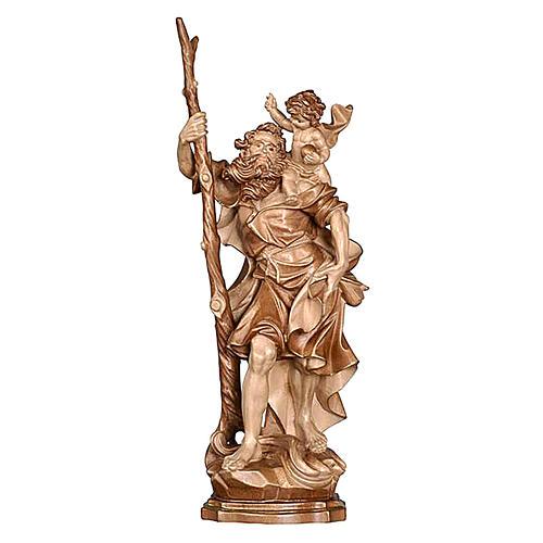 San Cristoforo legno finitura brunito 3 colori 1