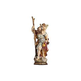 San Cristoforo legno finitura oro zecchino antico s2