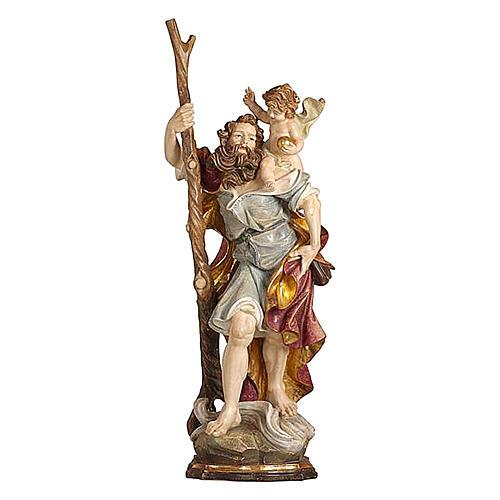 San Cristoforo legno finitura oro zecchino antico 1