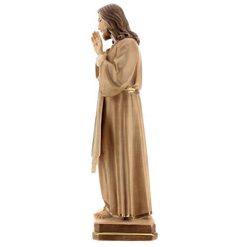 Christ Miséricordieux bruni 3 tons Val Gardena 4
