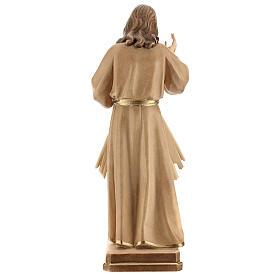 Gesù Misericordioso brunito 3 colori Val Gardena s7