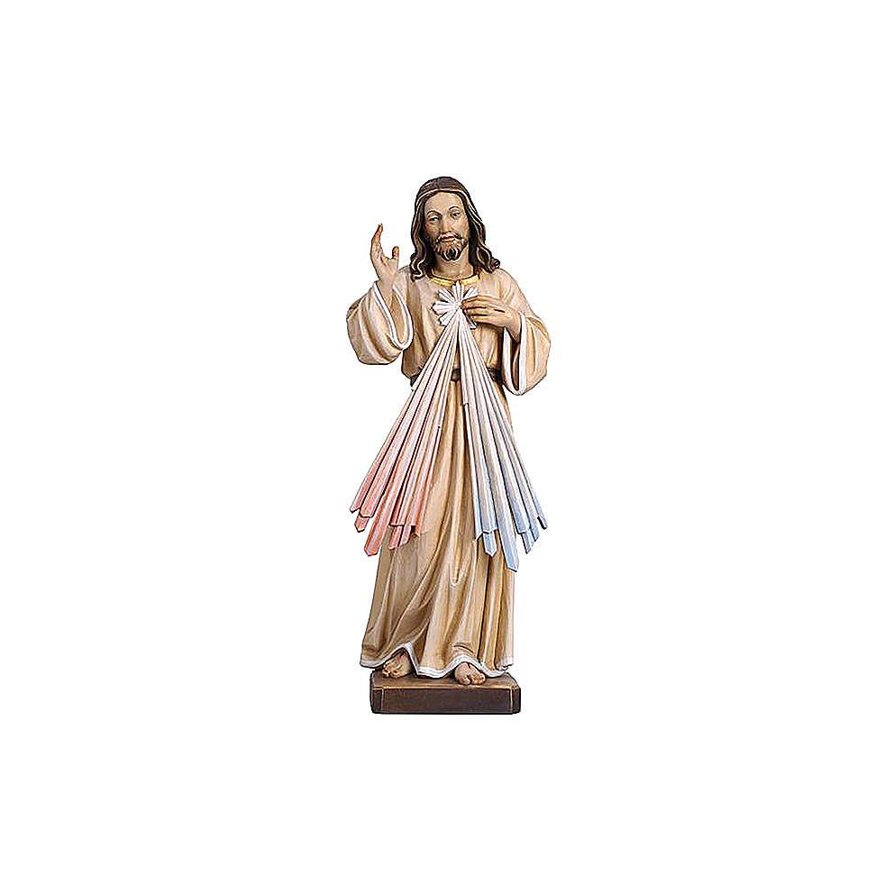 Christ Miséricordieux coloré Val Gardena 4