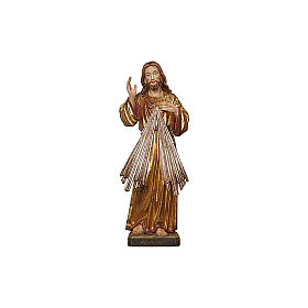Christ Miséricordieux or massif vieilli et argent s2