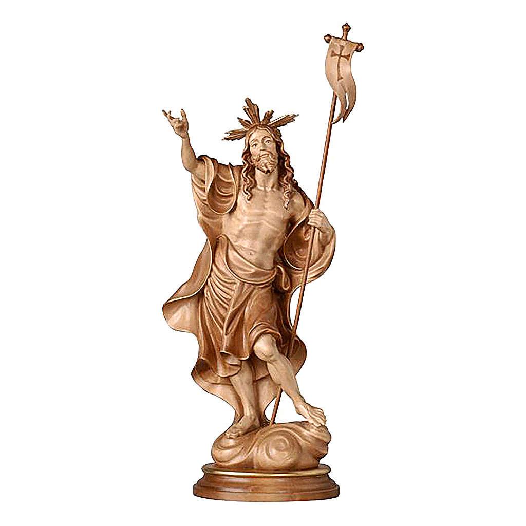 Statua Risurrezione brunito 3 colori 4