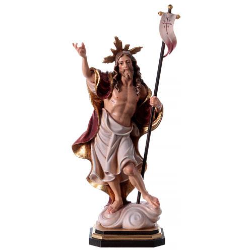 Statue Résurrection colorée Val Gardena 1