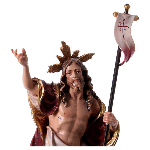 Statue Résurrection colorée Val Gardena 2