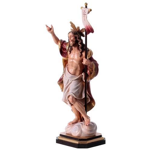 Statue Résurrection colorée Val Gardena 3